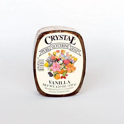 Crystal Glycerine Soap Bars Vanilla (24 bars)