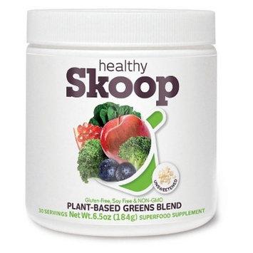 Healthy Skoop Unsweetened Greens Powder - 8.4 oz
