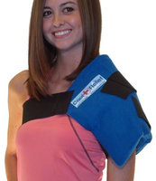Cool Relief CRSS-1 Soft Gel Shoulder Ice Wrap by Cool Relief -1 Removeable Insert