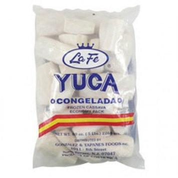 La Fe Foods La Fe Yuca, 5 lb