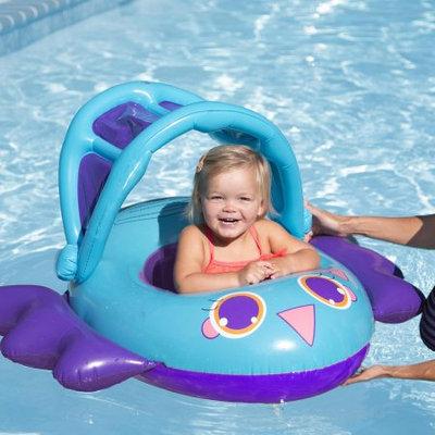 Swimways Birdie & Crab Baby Boat - Birdie, Multi-Colored