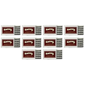 Colonel Ichabod Conk Trac II Razor Blades 10 ct. (Pack of 10) + FREE Travel Toothbrush, Color May Vary