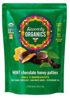Heavenly Organics Honey Pattie™ Chocolate Mint - 12 Patties pack of 4