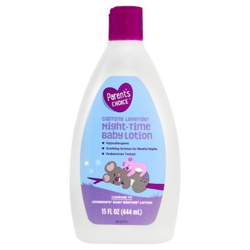 Wal-mart Stores, Inc. Parent's Choice Baby Lotion For Night Time, 15 oz