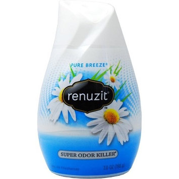 Renuzit Air Freshener, White Cone Pure Breeze [number_of_pieces: number_of_pieces-4]