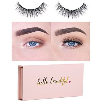 Icona Lashes Premium Quality False Eyelashes | Love Story | Fluffy and Universal for All Eyes | Non-Magnetic | Natural Look and Feel | Reusable | 100%...