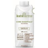 Core Essentials Oral Supplement / Tube Feeding Formula Chocolate, 11 oz Carton, Ready to Use, Case of 12