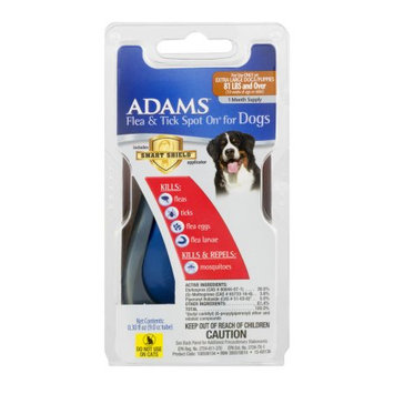 Adams Flea & Tick Spot On For Dogs