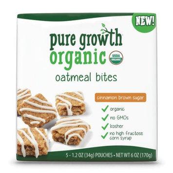Pure Growth Organic Cinnamon Brown Sugar Oatmeal Bites