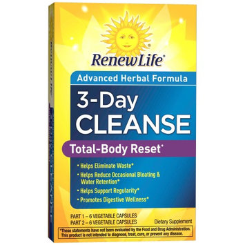 Renew Life 3-Day Cleanse Advance Herbal Formula