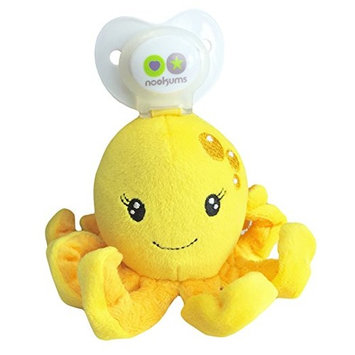 Nookums Paci-Plushies Buddies Octopus Pacifier Holder
