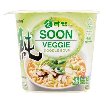Nongshim America Inc Nongshim Soon Veggie Noodle Soup, 2.64 oz
