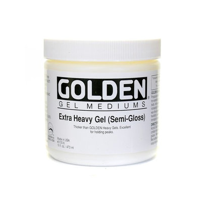 Golden Artist Colors 16 oz. Regular Gel Medium Matte Primer Paint