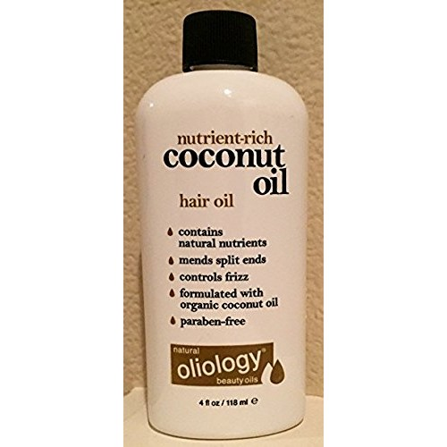 Oliology Coconut Oil Hair Oil, 4 Oz.