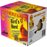 Heath Outdoor Products DD4-6 Birds Blend Suet Cakes, 6-Pack