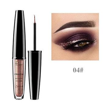 HP95(TM) Smoky Metals Glow Eyes Shadow Shiny Eyeshadow Waterproof Glitter Liquid Eyeliner