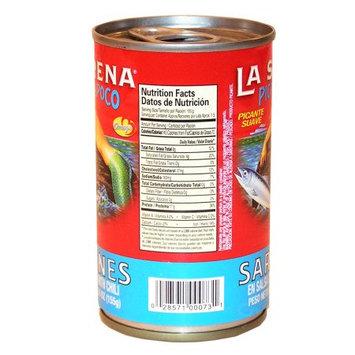 La Sirena Pica Poco Sardine 5.5 oz - Sardina (Pack of 15)