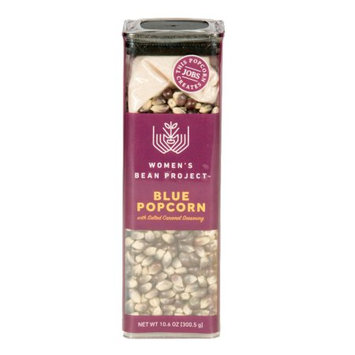 Women's Bean Project Blue Popcorn with Salted Caramel Spice Seasoning, 10.6 oz. box