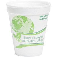 Choiix WCP8C8WVIO - WinCup Vio Biodegradable Cups; Foam; 8 oz; White/Green; 1000/Carton