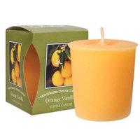 Bridgewater Candle Boxed Votive Pack of 4 - Orange Vanilla