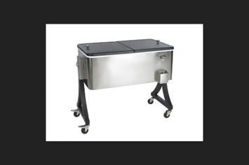 Living Accents(r) Stainless Steel Cooler