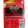 Resers Reser's Red Hot Beer Sausage 12 Oz
