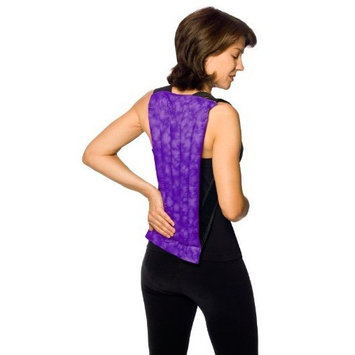 Nature Creation- Spine & Back Support Heating Pad, Stress & Sore Muscles Relief – Reusable Herbal Hot and Cold (Blue Marble)