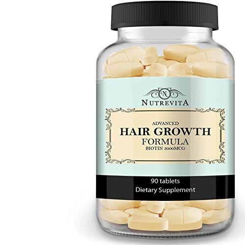 Nutrevita Biotin Vitamins For Hair Growth