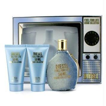 Fuel For Life Denim Collection Femme Coffret: Edt 50ml/1.7oz+ Shower Gel 50ml/1.7oz+ Body Lotion 50ml/1.7oz+ Edt Pour Ho