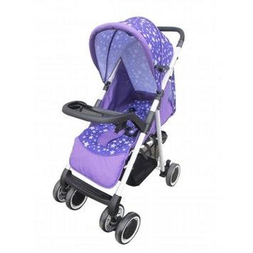 AmorosO No. 26658 Burgundy Convenient Stroller with Diaper Bag