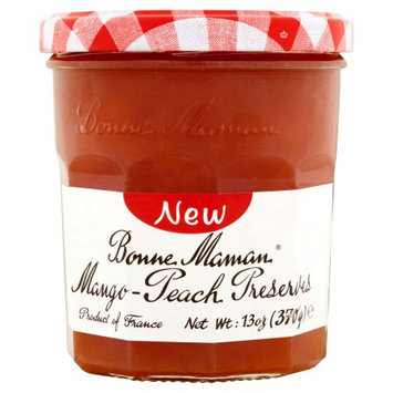 Andros Bonne Maman, Preserves Mango Peach, 13 Oz (Pack Of 6)