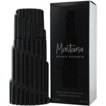 MONTANA BLACK EDITION EDT SPRAY 4.2 OZ