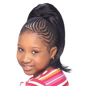 MADISON (2 Dark Brown) - Model Model Glance KID'S Synthetic Hair Drawstring Ponytail