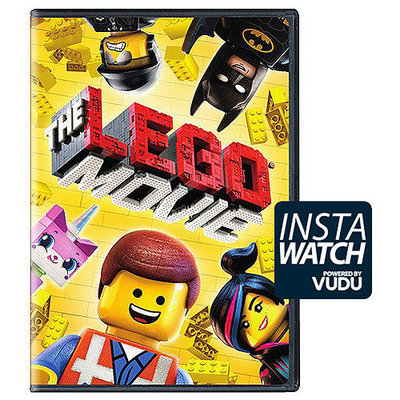 The Lego Movie (DVD + Digital With UltraViolet) (With INSTAWATCH) (Widescreen)