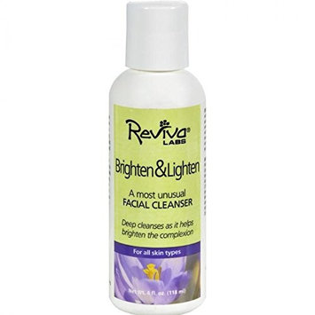 Reviva Labs, Brighten & Lighten, Facial Cleanser, 4 fl oz (118 ml) by Reviva