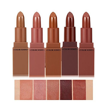 Hot Sale Lipstick Sunvy Premium Matte Waterproof Long Lasting Lip Gloss Cosmetic Set Winter series