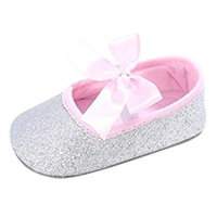 For 0-18 Months Girls,Clode® CuteToddler Girl Crib Shoes Newborn Bowknot Soft Sole Anti-slip Sneakers Crib Shoes
