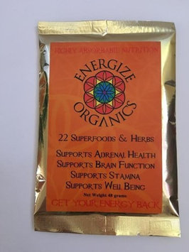 22 Herbs & Superfoods Energize Organics 48 grams Powder