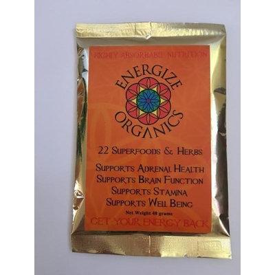 22 Herbs & Superfoods Energize Organics 48 grams Powder