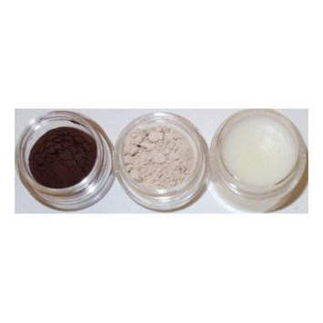 Glamour My Eyes All Natural Mineral Brow Powder Set - Deep Brown ♥
