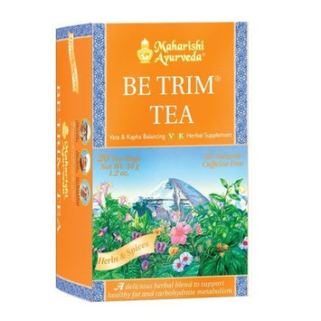Ayurvedic Herbal Tea, 20 Herbal Tea Bags, 1.2oz (34g) (Be Trim Tea)