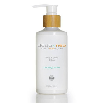 Organic Baby Lotion Naturally Safe for Face and Body by Dada & Neo - Soft Comforting Natural Formula For Sensitive, Dry, Eczema, Cradle Cap. Paraben Free and Pthalate Free [Naturally Bare]