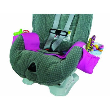 Kiddie Kangaroo Travel Storage Accessory - Car Seat in Pink (Discontinued by Manufacturer)