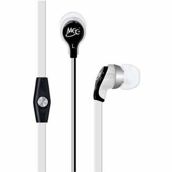 MEElectronics RX12 In-Ear Headphones with mic and remote (white/black)