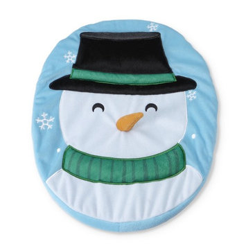 Cannon Christmas Toilet Seat Cover - Snowman
