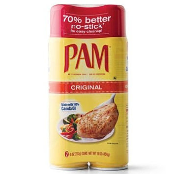 PAM No-Stick Cooking Spray - 2/8 oz. cans (pack of 2)