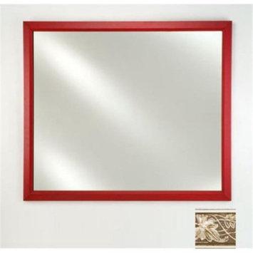 Afina Corporation FM2026ARSSV 20 in.x 26 in.Signature Plain Mirror - Aristocrat Silver