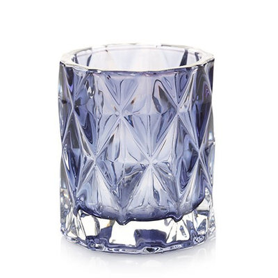 Yankee Candle Yankee Candle Home Collection Navy Fractal Votive Candle Holder