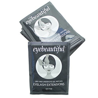 Eyelash Extension Under Eye Gel Pad Patches Mask By Eyebeautiful 25 Pack