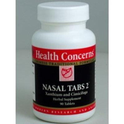 Health Concerns - Nasal Tabs 2 - Xanthium and Cimicifuga Herbal Supplement - 90 Tablets